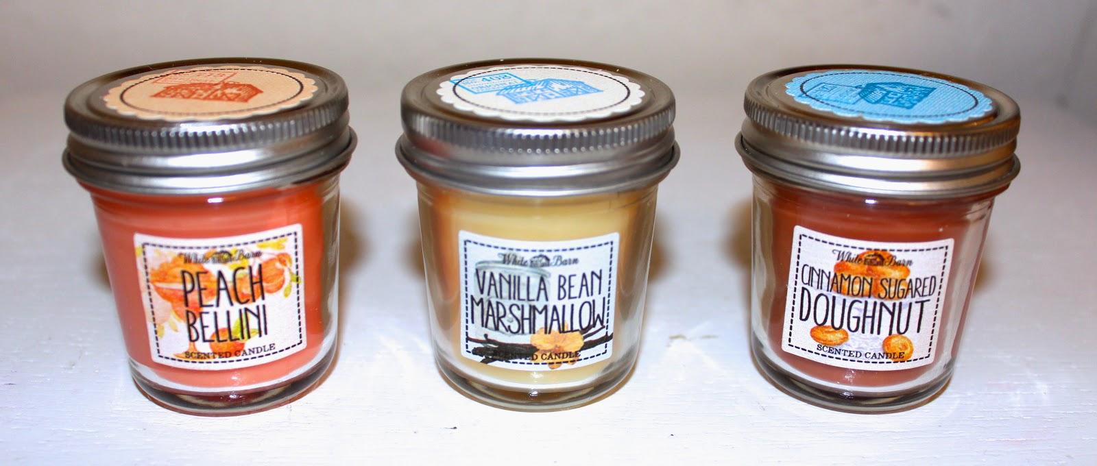 Candles Bath Body Works Mini Mason Jar Collection Review