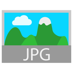 Preview of JPG file type icon