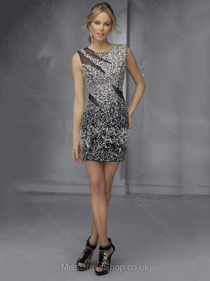 a6ee128ca3c4 A fun black-tie-optional New Year's Eve party, for example, is the perfect  opportunity to wear a sequin mini dress. Pair it with high heel sandals and  ...
