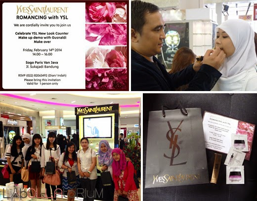 publication labollatorium beauty event YSL