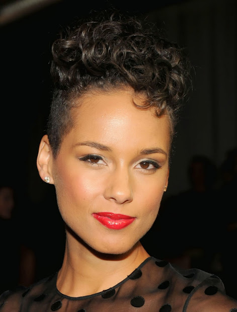 alicia keys hairstyles 2014