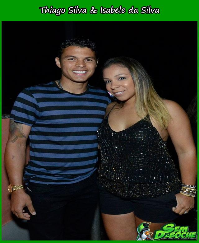 Thiago Silva & Isabele da Silva
