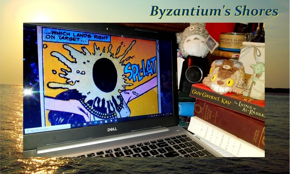 Byzantium's Shores: chronicling the misadventures of an overalls-clad hippie