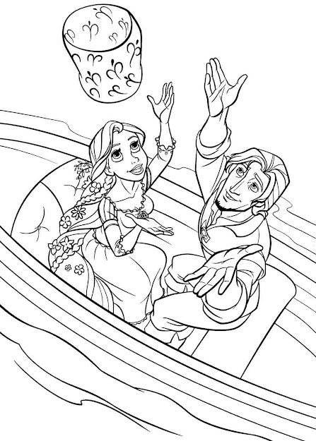 Free Printable Disney Princess Tangled Rapunzel Colouring Pages For Little  Kids