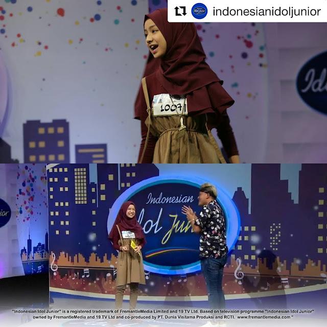 Curi Perhatian Juri Idol Junior, Ini 10 Potret Imut Nashwa Zahira
