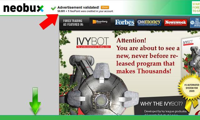 Neo+Validated - اكبر الشركات للربح من الانترنت فقط من خلال مشاهدة اعلاناتهم 2017 neobux and clixsense