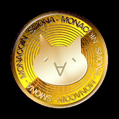 仮想通貨モナコインのフリー素材(金貨ver)
