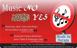 Mengapa dan Bagaimana Musik Nyanyian itu Haram dalam Islam