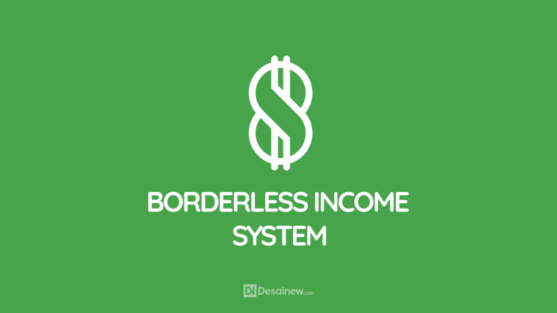 Borderless Income System Logo Design Project Portfolio Desainew Studio