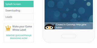Quitar etiqueta marca QuickApp Ninja