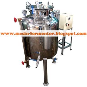 Mesin fermentor kapasitas 250 liter