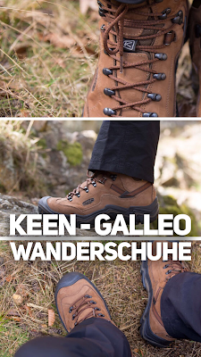 Gear of the Week #GOTW KW 15 |  Keen - Galleo Wanderschuhe | Trekking Stiefel