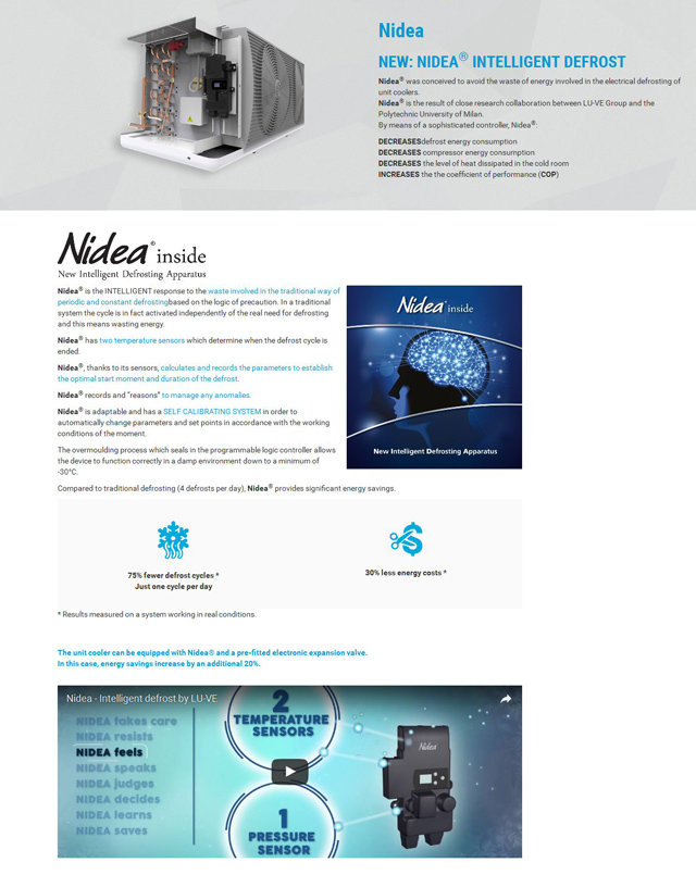 NIDEA Intelligent Defrost
