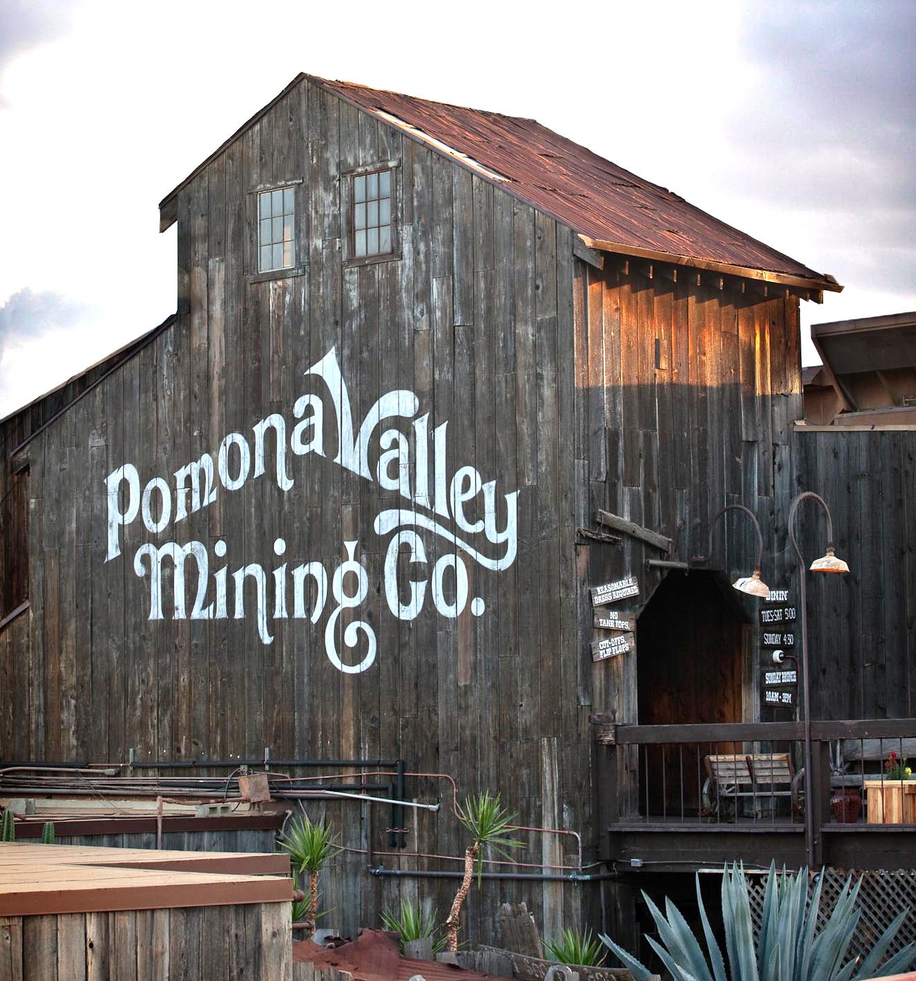 Dining In Pomona: Pomona Valley Mining Company -- 1777