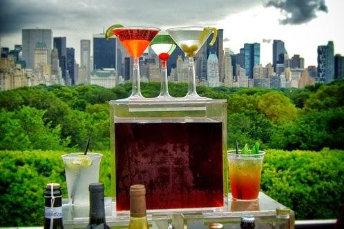 Roof Garden Café and Martini Bar em New York