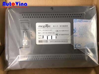 Bảng giá, tài liệu và phần mềm lập trình màn hình cảm ứng HMI Mcgs TPC7062TX(KX)