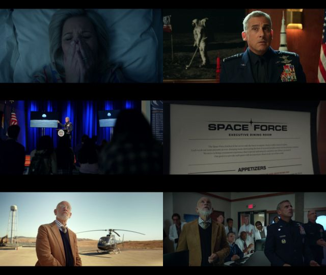 Space Force Temporada 1 Completa (2020) HD 720p Latino Dual