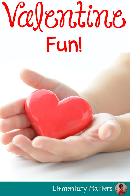 Valentine Fun- continue learning and have some fun on Valentine's Day. Here are several ideas and resources for the primary classroom.