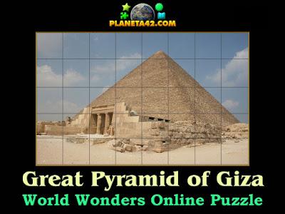 Онлайн Пъзел на Хеопсовата Пирамида