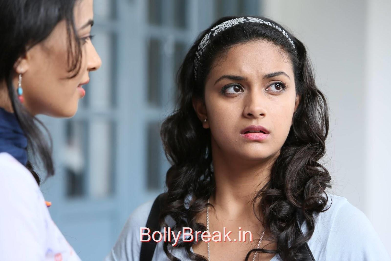 Keerthi Suresh Photoshoot Stills, Keerthi Suresh Hot Stills From Idhu Enna Maayam Tamil Movie