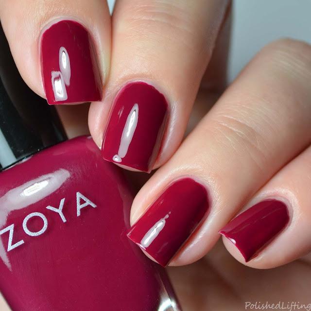 berry creme nail polish