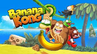 لعبة Banana Kong  نقود لا تنتهي  للاندرويد (اخر اصدار)