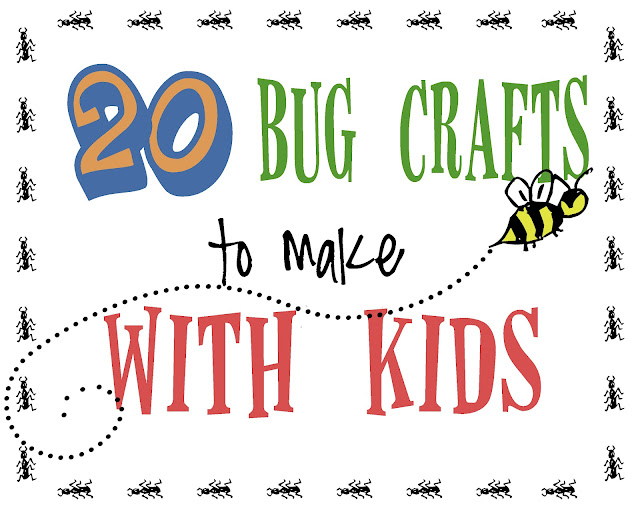 20 bug crafts to make with kids