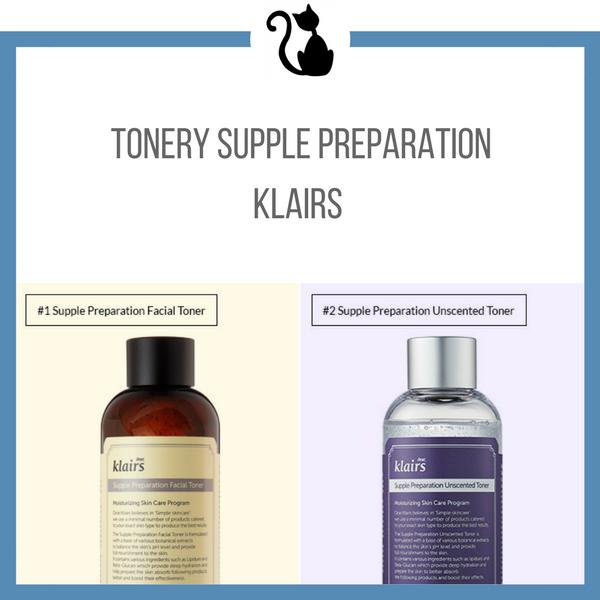 Nowy toner Supple Preparation Unscented od Klairs - recenzja porównawcza