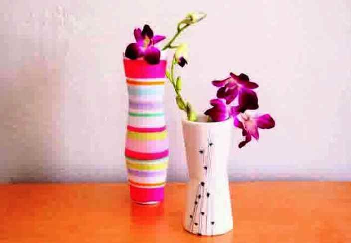 Cara Membuat Fas Bunga Dari Kertas Bekas Caranya Adalah Sebagai