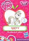 My Little Pony Wave 13B Rarity Blind Bag Card
