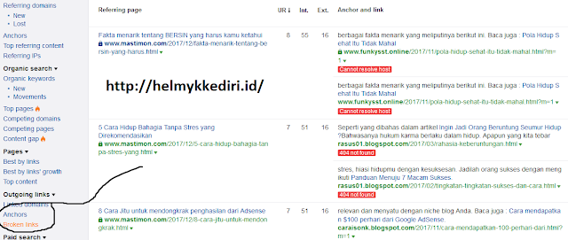Memperbaiki backlink1