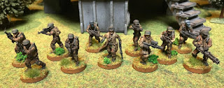 Rebel Troopers for the Star Wars Legion game