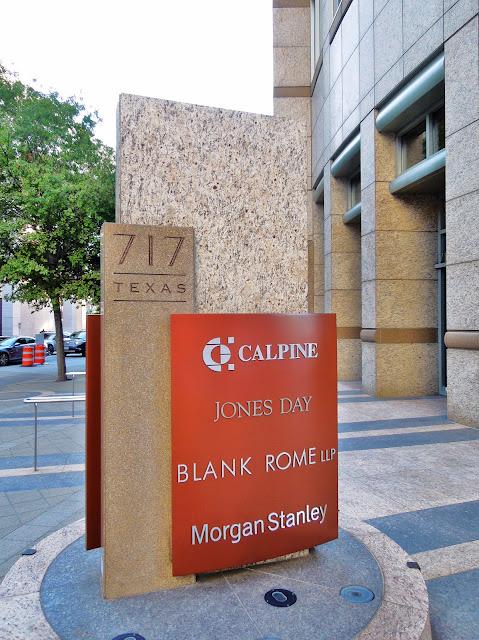717 Texas Houston TX 77002 - Calpine Center - Jones Day - Blank Rome LLP - Morgan Stanley
