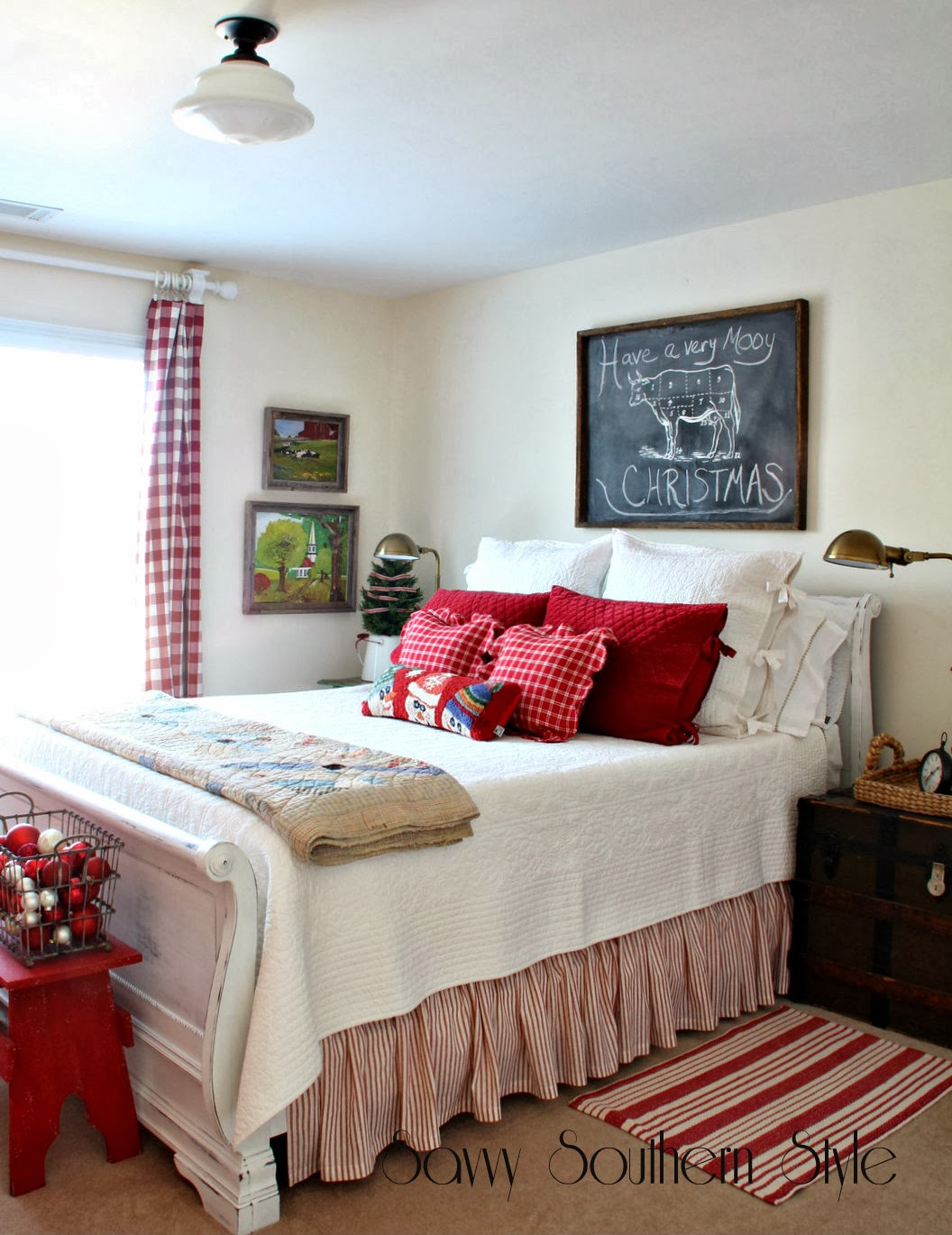 Savvy Southern Style My Favorite Holiday Room 2013