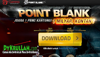 Download Game Online Point Blank Garena Terbaru