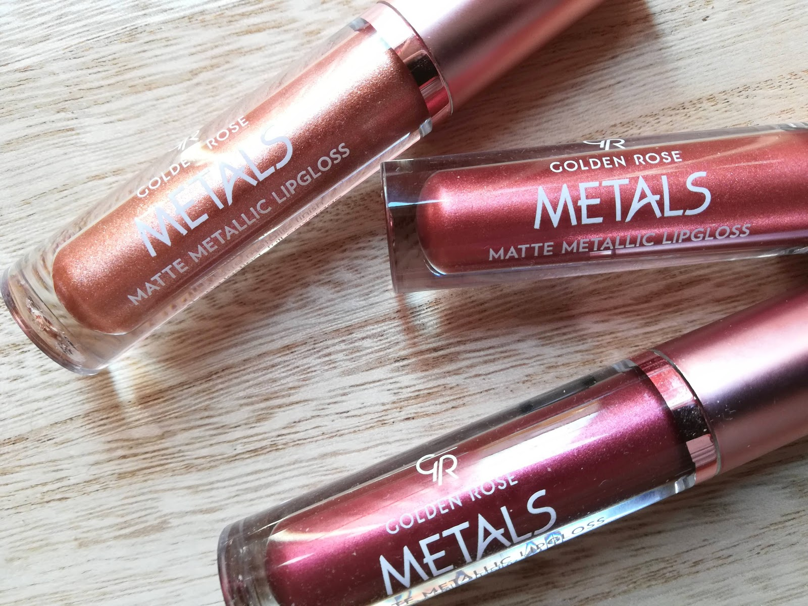 Metals Matte Metallic Lipgloss de Golden Rose