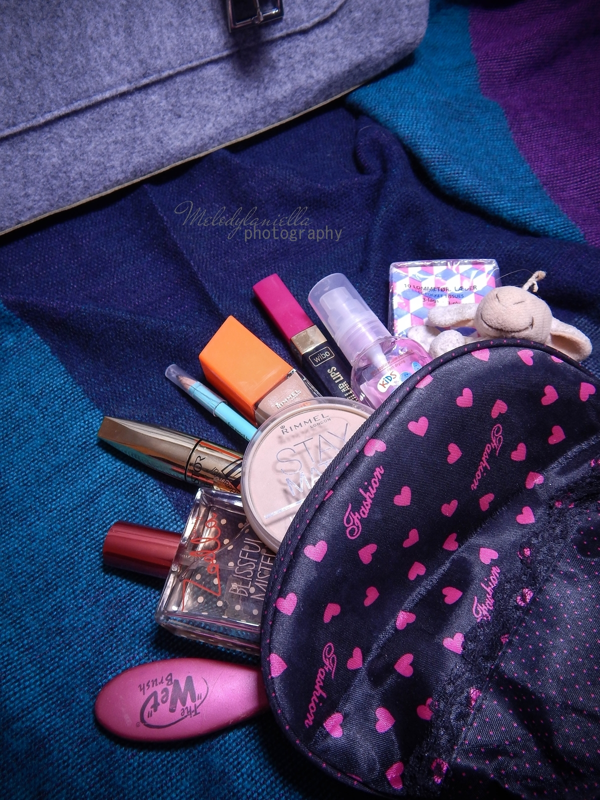 melodylaniella manzana co jest w mojej torebce filcowa jesienna listonoszka torby torba melodylaniella