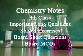 9th Class Chemistry Notes all Chapters PDF Download - Rashid Notes