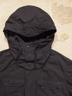 "Engineered Garments ""Over Parka in Dk.Navy Nyco Ripstop"""