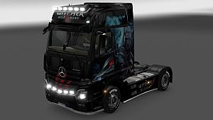 Witcher skin for Mercedes MP4