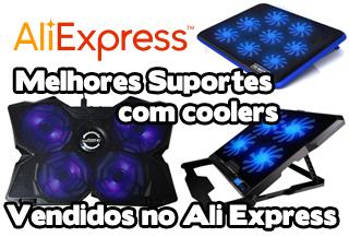 melhores suportes com coolers vendidos no ali express