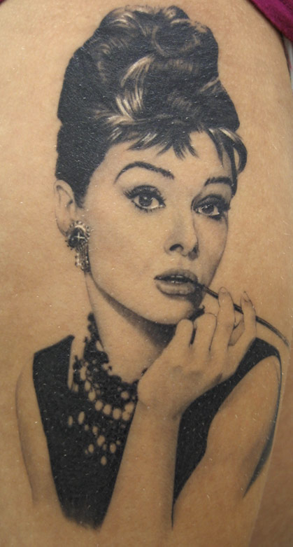 Age Old Youngster: Tattoo Trends: Marilyn & Co