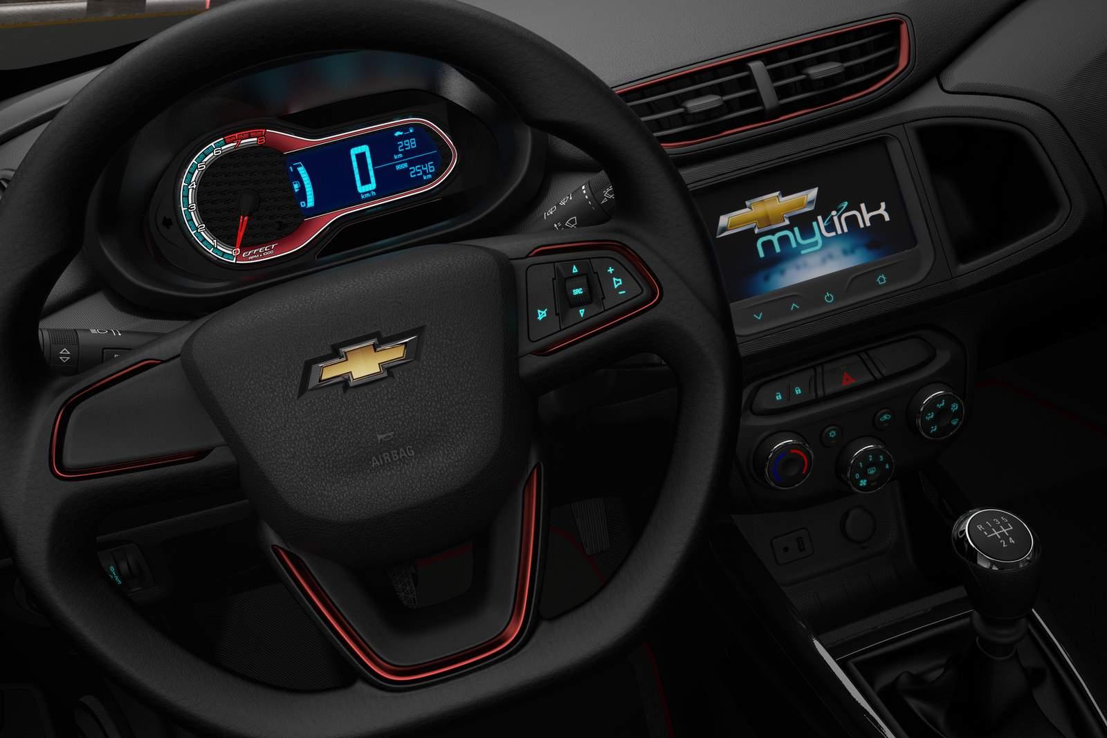 Chevrolet Onix Effect: série especial com visual esportivo ...