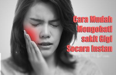 Cara Mengobati Sakit Gigi Secara Alami Dengan Bawang Putih, Es Batu, Air Garam, Cengkeh Dan Pijatan