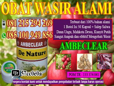 Foto obat herbal ambeien tanpa operasi dengan obat ambeien alami ambeclear