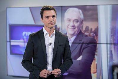 Diego Esteves no estúdio do Cidade Alerta - Crédito: Edu Moraes/Record TV
