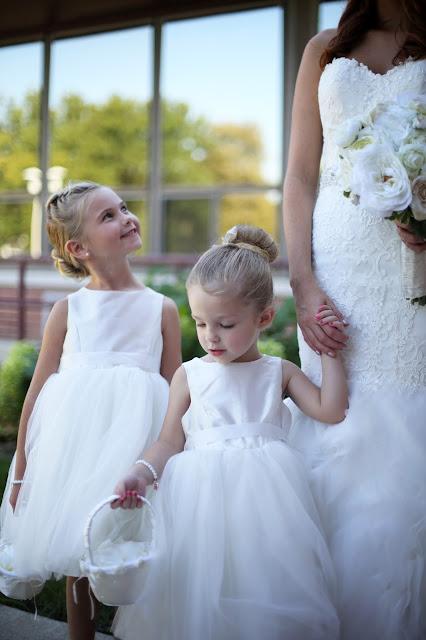 flower girls in white dresses sioux city