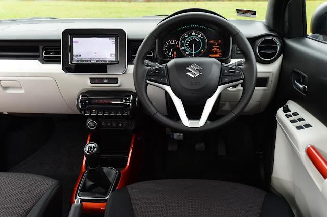 Suzuki Ignis Indonesia Interior
