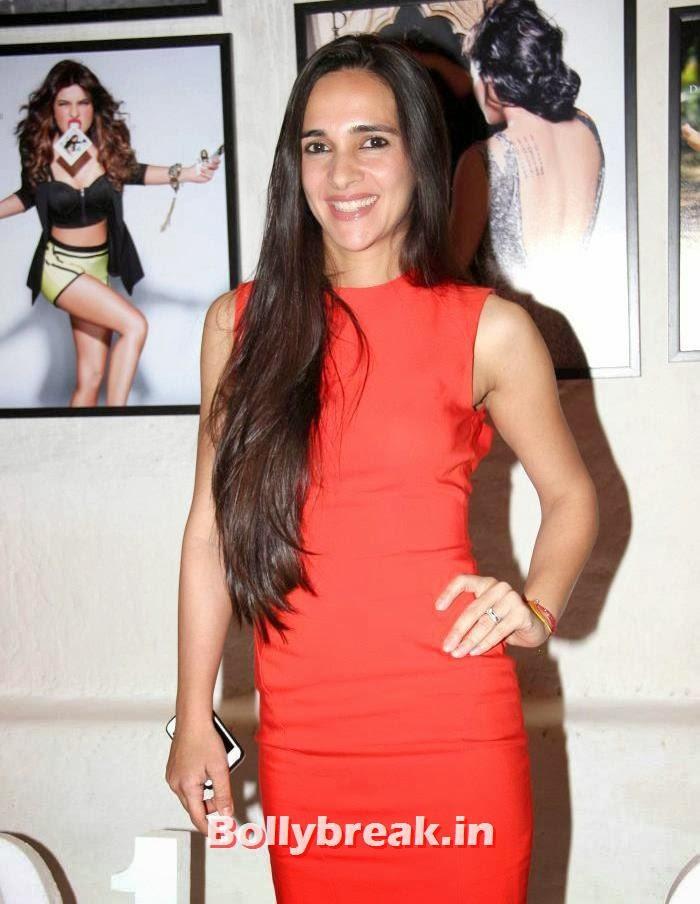 Tara Sharma, Dabboo Ratnani's 2014 Calendar Launch Pics