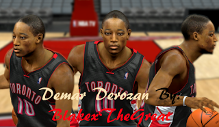 NBA 2K13 DeMar DeRozan Face Mod & Patch